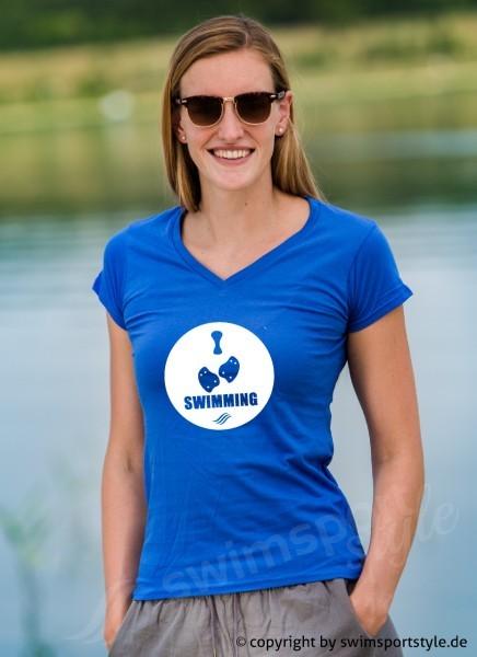 Shirt: I love swimming