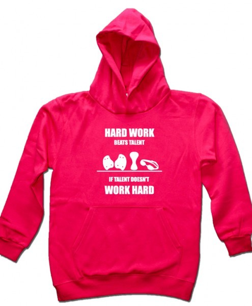 Hard work beats talent | Kids Hoodie