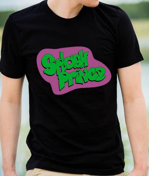 T-Shirt: SPLASH PRINCE - Unisex