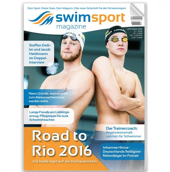 swimsportMagazine Ausgabe Winter 2016