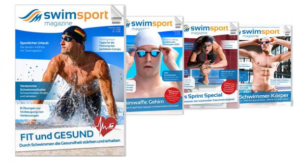 swimsportMagazine im praktischen Abonnement