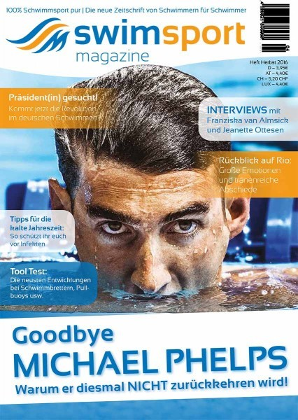 swimsportMagazine Ausgabe Herbst 2016