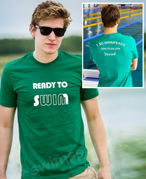 Ready to win | Shirts mit Team-Aufdruck