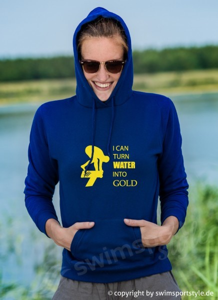Turn water into gold | hoodie