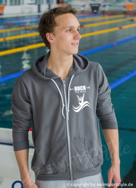 Zipper Hoodie - Rock the Pool