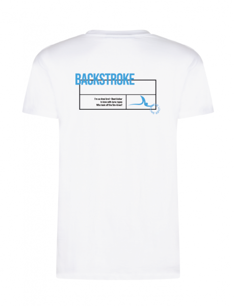 Rücken / Backstroke Shirt Herren & Kids | Your favorite stroke Shirt