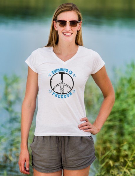 T-Shirt | Swimming is Freedom