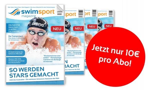 swimsportMagazine Vereins-Abo