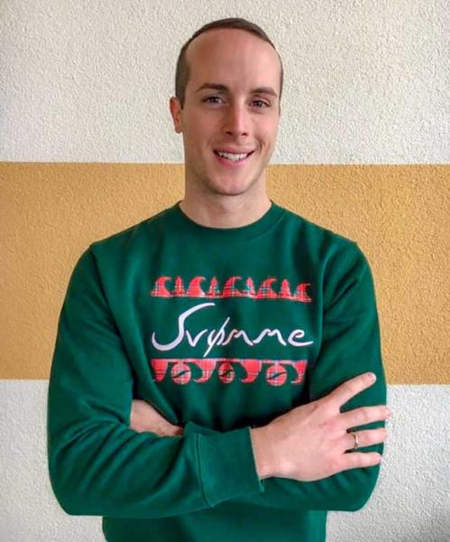 Der svømme Christmas Sweater für Schwimmer