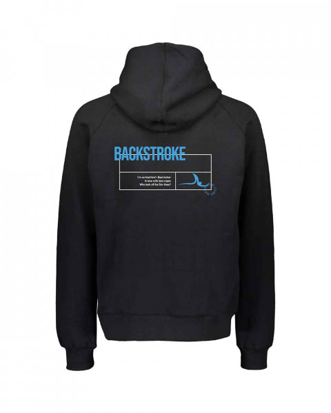 Rücken / Backstroke Pullover Herren & Kids | Your favorite stroke hoodie