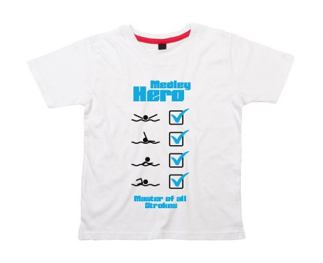 Kids-Shirt: Medley Hero