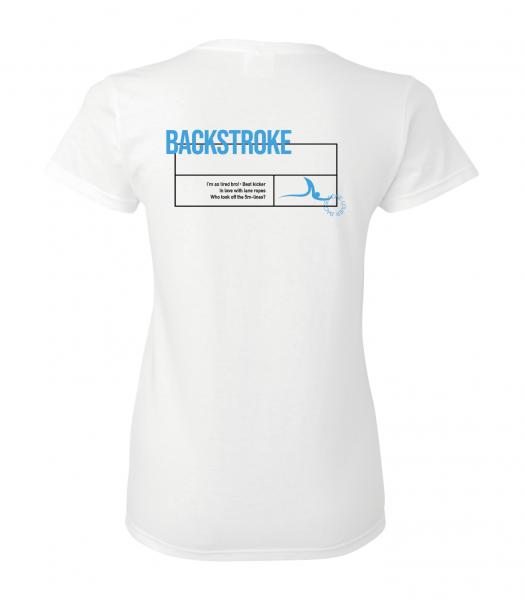Rücken / Backstroke Shirt Damen | Your favorite stroke Shirt