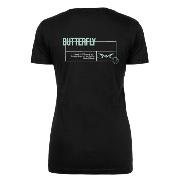 Schmetterling / Butterfly Shirt Damen | Your favorite stroke Shirt