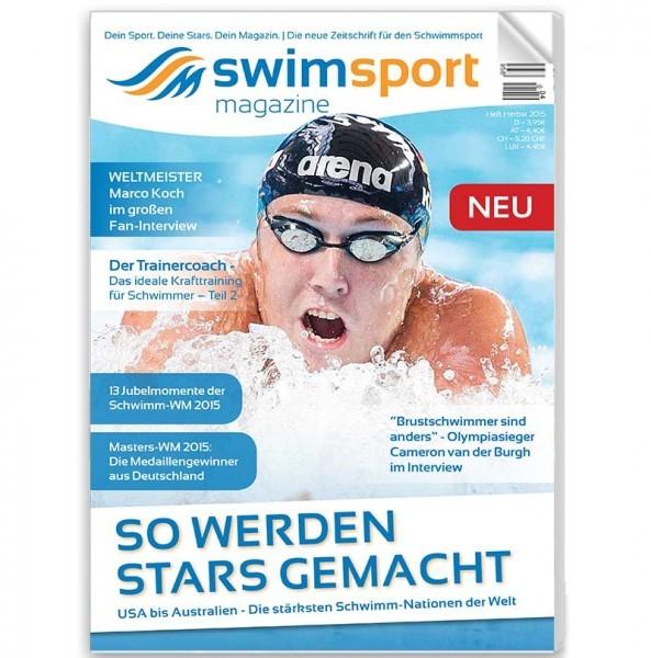 swimsportMagazine Ausgabe Herbst 2015