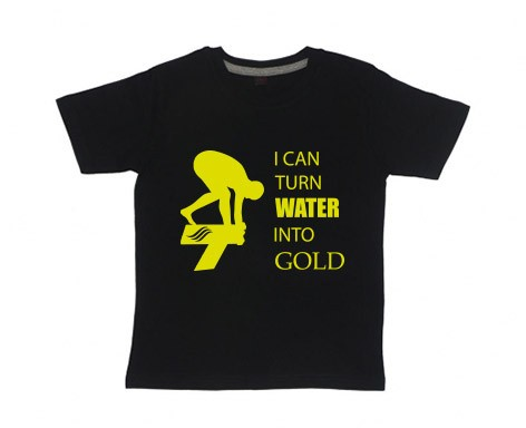 Kids-Shirt: Turn Water Into Gold