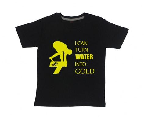 Kids Shirt: Turn water into gold