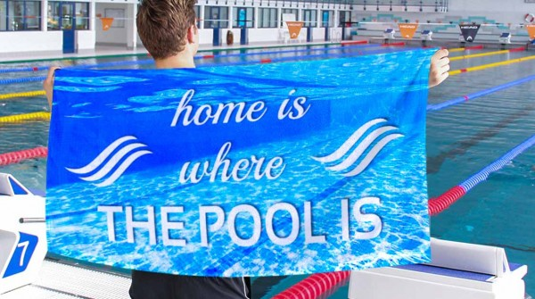 Home is where the pool is | Handtuch