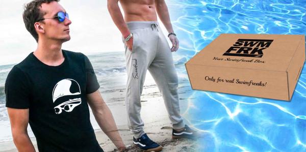 Die swimfreak-Box 10 | Mit dem Black&White Shirt