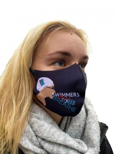 swimfreaks-Maske | Mund-Nasen-Bedeckung für swimfreaks