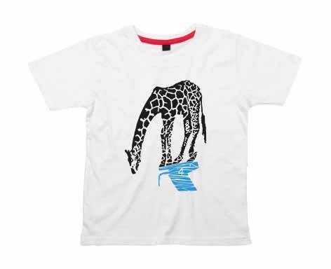 Kids Shirt: Giraffe Longo