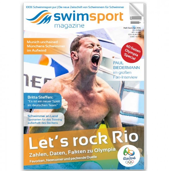 swimsportMagazine Ausgabe Sommer 2016
