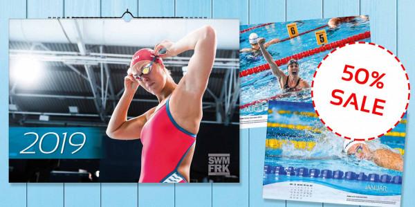 50% Rabatt! Der Schwimm-Kalender 2019