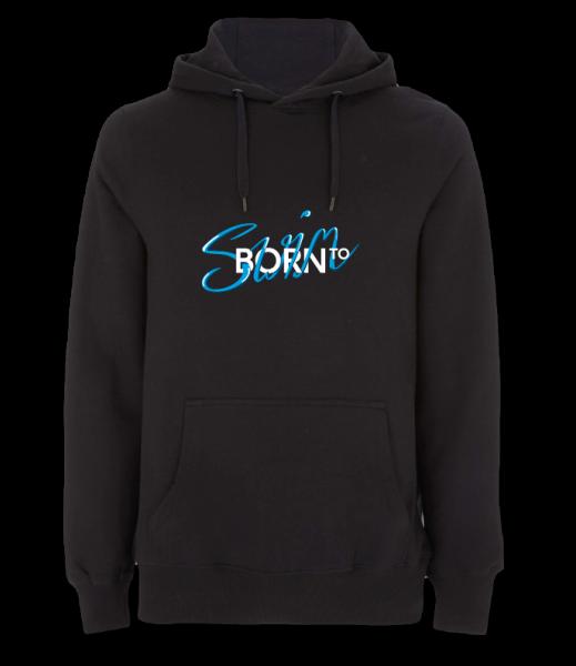 Born To Swim | Hoodie für Herren & Kids | auf Wunsch mit Jahrgang