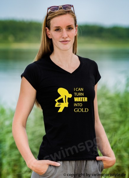 Shirt: I can turn water into gold