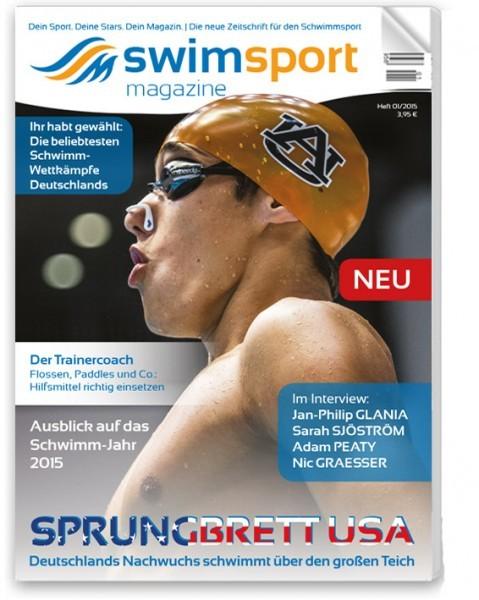 swimsportMagazine Ausgabe 1/2015