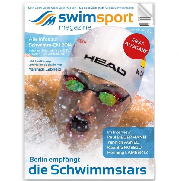 swimsportMagazine Erstausgabe 2014