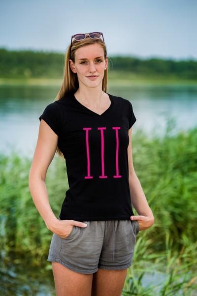 bahnen | T-Shirt für Damen