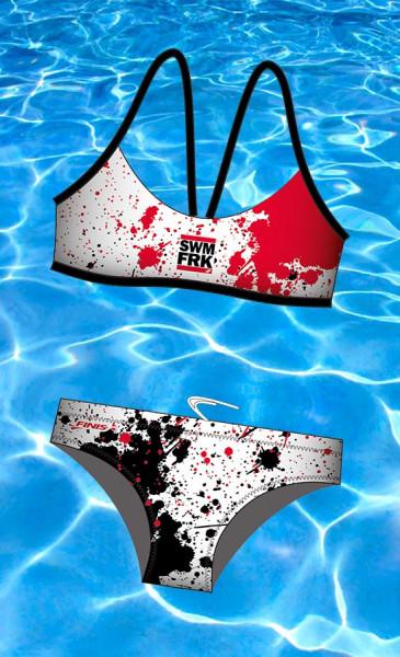 Swimfreaks Bikini - auf Wunsch mit Namensdruck
