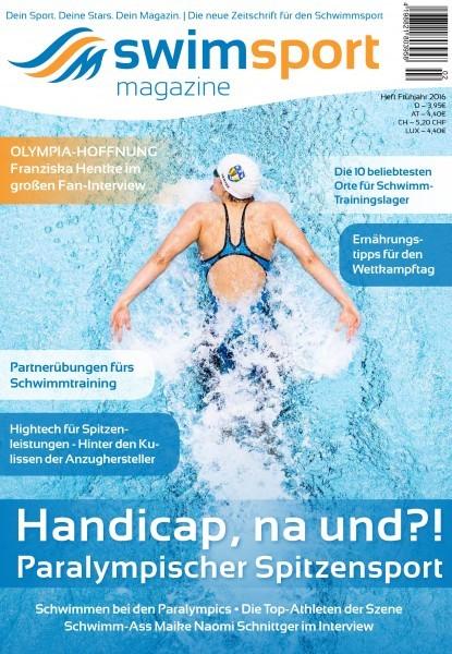 swimsportMagazine Ausgabe Frühjahr 2016