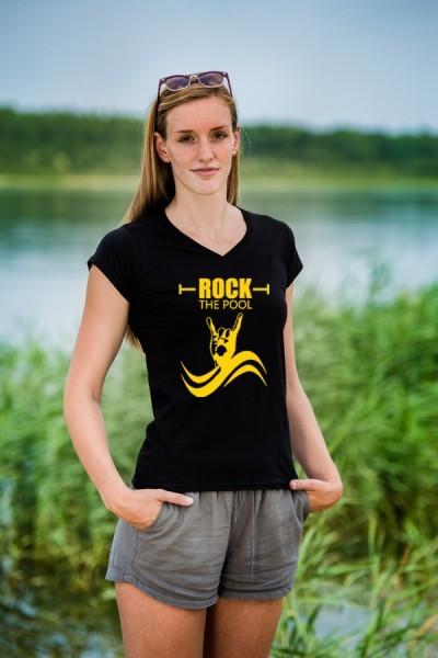 Shirt: Rock the Pool