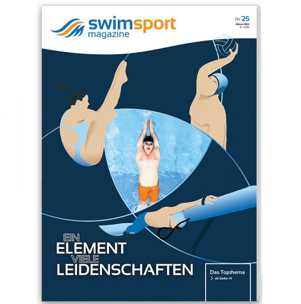swimsportMagazine Ausgabe No. 25 Winter 2020/21