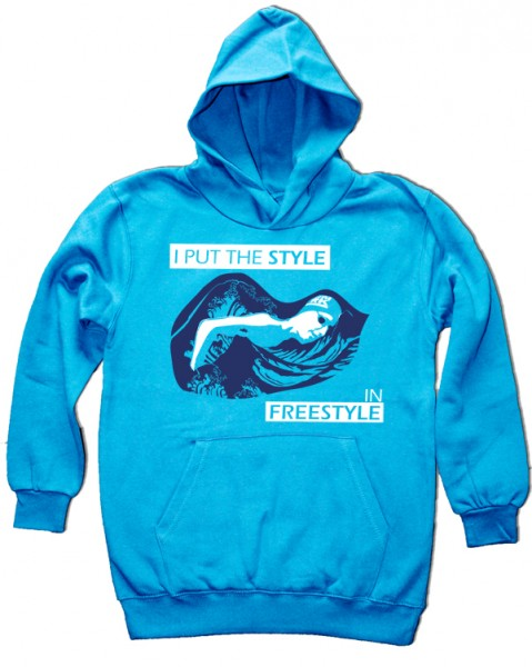 Kids Hoodie: I put the style in freestyle