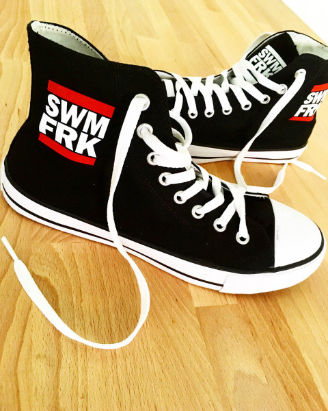 Swimfreak Sneakers | auf Wunsch mit Namensdruck