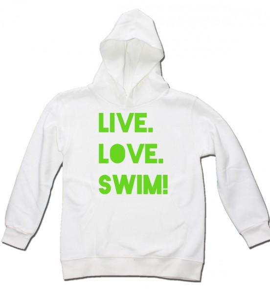 Live. Love. Swim! Kids Hoodie